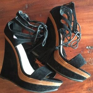 Tall Wedge sandals